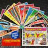 GARBAGE PAIL KIDS 1986 JUMBO/GIANT 5X7 2ND SERIES 2 SET OF 15 CARDS +WRAPPER W@W