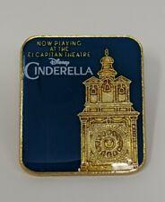 Cinderella Now Playing El Capitan Dssh Disney Studio Store Hollywood Le1000 Pin