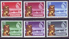 Singapore 1959 SC 43-48 MNH Set New Constitution