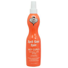 Rock Your Hair Hot Curls Thermal Curl Spray 10oz w/Free Nail File