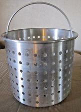 "Vollrath Replacement Aluminum Boiler / Fryer Basket 12 1/2"" by 10 7/8"" High"