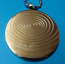Gold Titanium Energy Pendant, with Magnets and Germanium Ion Stone - KSP026