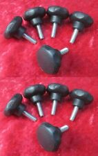 Pack of 10 x M6 x 17mm. Male Thumbscrews / Handwheels / Knobs Quick Removal