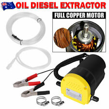 12V Electric Oil Extractor Pump Diesel Transfer Fuel Suction for Car Boat Engine
