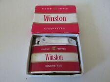 VINTAGE WINSTON CIGARETTE LIGHTER NEW WITH ORIGINAL BOX UNUSED?