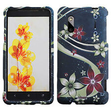 For HTC EVO Design 4G Hero S HARD Protector Case Snap Phone Cover Floral Galaxy