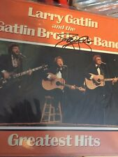 Larry Gatlin & The Gatlin Brothers  hand signed record album autographed!