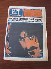 Hit Week Nov 1967  Frank Zappa Klaus Voorman Dutch magazine