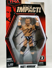 TNA-signé-deluxe impact 3 MATT MORGAN wrestling action figure