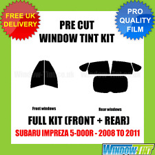 SUBARU IMPREZA 5-DOOR 2008-2011 FULL PRE CUT WINDOW TINT KIT