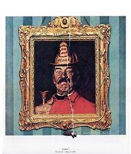 Norman Rockwell Framed Fireman Cigar Print FIRE