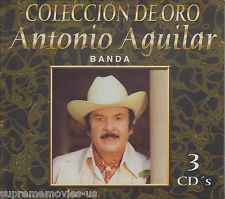 NEW - Coleccion de Oro Antonio Aguilar con Banda  3 CDs 30 canciones
