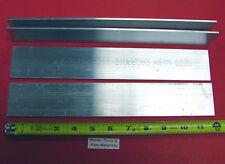 """4 Pieces 1/8"""" X 2"""" ALUMINUM 6061 FLAT BAR 12"""" long Extruded Mill Bar Stock New"""
