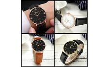 Geneva New & Stylish Men's Watches with Leather Bands
