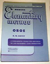 Rubank Elementary Method - Oboe #40