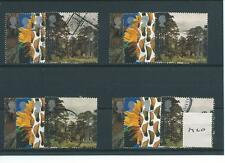 Gb-Conmemorativas - 2000-M20-cuatro conjuntos-Árbol Y Hoja-Ago-Usa