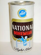 """National Bohemian """"The Colt"""" 7oz Flat Top Beer Can J313"""