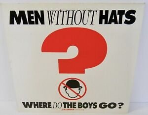 MEN WITHOUT HATS Where Do the Boys Go? Extended Ver. 12""