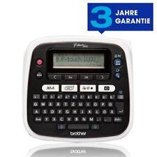 Brother D200BW P-touch Beschriftungsgeraet Vertikaldruck, Spiegelschrift NEU