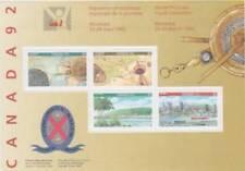 Canada 1992 # 1407a - CANADA 92 - souvenir sheet - MNH