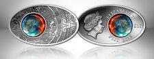 10 $ Fiji 2012 - Maya Apocalypse I silver coin - as Tiffany, Mineral,Crystal Art