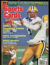 Sports Cards Magazine November 1993 Brett Favre w/Mint Cards jhscd5
