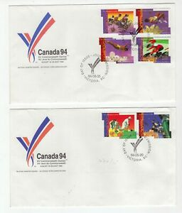 Canada 2 x Canada 94 covers