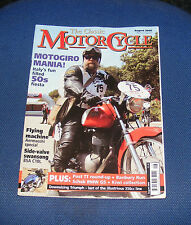 THE CLASSIC MOTORCYCLE AUGUST 2006 - MOTOGIRO MANIA!/FLYING MACHINE