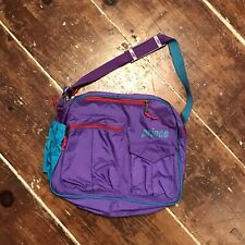 Vintage 90s Prince Tennis Racquet Duffle Tote Purple/Teal/Pink Shoulder Bag