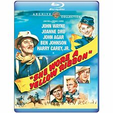 SHE WORE A YELLOW RIBBON (John Wayne, Agar) Blu Ray - Region free