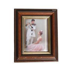 Consort Pictures Northern Ireland Silk Screen Print Harlequin Piero & Ballerina