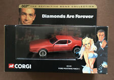 Corgi 02101 James Bond Ford Mustang Mach 1 Diamonds Are Forever 1:36 DieCast Box