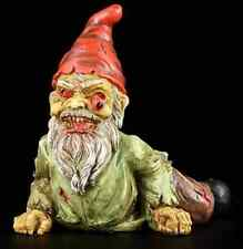 Zombie Gnome Statue Scary Garden Decor Sculpture Outdoor Backyard Crawling Lawn
