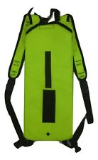 Ex Police Hi Vis Viz Hydration Water Bladder Pack Carrier Cyclist Cycling BR4