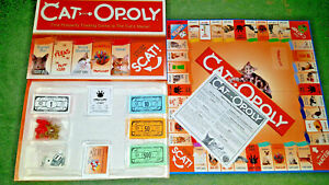 CATOPOLY - BOARD GAME - MONOPOLY FOR CATS - LATE FOR THE SKY