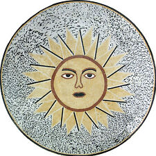Sun Shine Bright Medallion Design Floor Pool  Home Marble Mosaic MD956