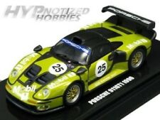 KYOSHO 1:64 BEADS COLLECTION 1996 PORSCHE 911 GT1 #25 LM GREEN K06521D