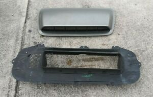 06 07 Subaru Impreza WRX Hood Scoop & Air Duct Splitter Dam 2 Pieces OEM