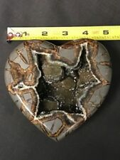 LARGE ,RARE CRYSTALS, OUTSTANDING QUALITY, SEPTARIAN HEART, UTAH
