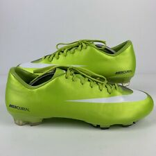 7b68150ed Nike Mens Rare Mercurial Victory FG 396121-311 Green Soccer Cleats Boots  Size 12