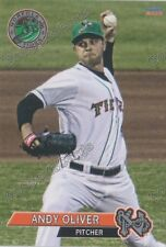 2016 Norfolk Tides Andy Oliver RC Rookie Orioles