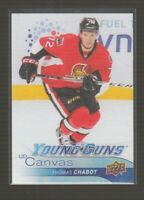 (74873) 2016-17 UPPER DECK SER. 2 CANVAS YOUNG GUNS THOMAS CHABOT #C222