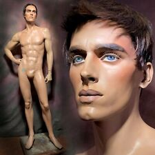 Rootstein Vintage Male Mannequin Realistic Standing Full Size Man Chris Connolly