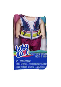 """12"""" 13"""" Inch Baby Alive Boy Doll Clothes Original Sweet Spoonfuls Outfit Only"""