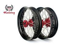 "Supermoto Wheels For Honda CRF250R CRF450R CR 125 250 17"""