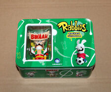 Rabbids Raving Rayman Invade Mini Figure in Tin Case Ubisoft Wii Xbox 360 DS PS2