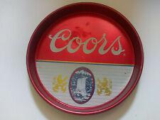 """Coors Beer Tray Vintage 13"""""""