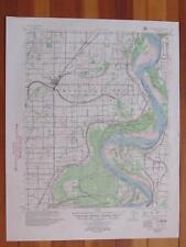 Portageville Missouri 1955 Original Vintage USGS Topo Map