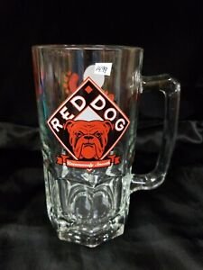 Red Dog 32 oz Large Drinking Mug