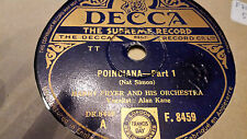 HARRY FRYER AND HIS ORCHESTRA POINCIANA DECCA F8459